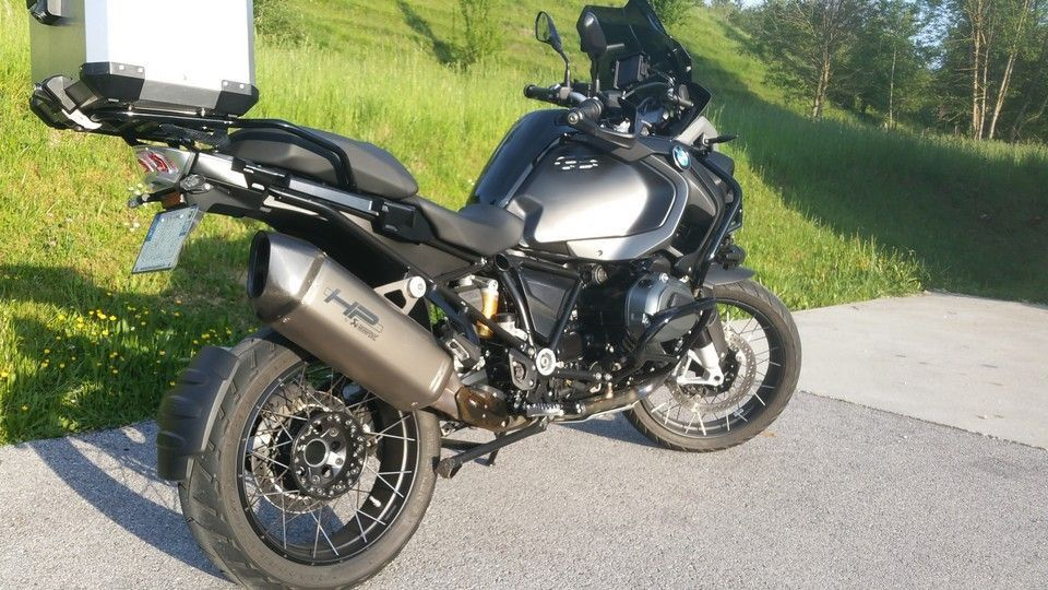 BMW 1200 GS Motorbike inspection right vue