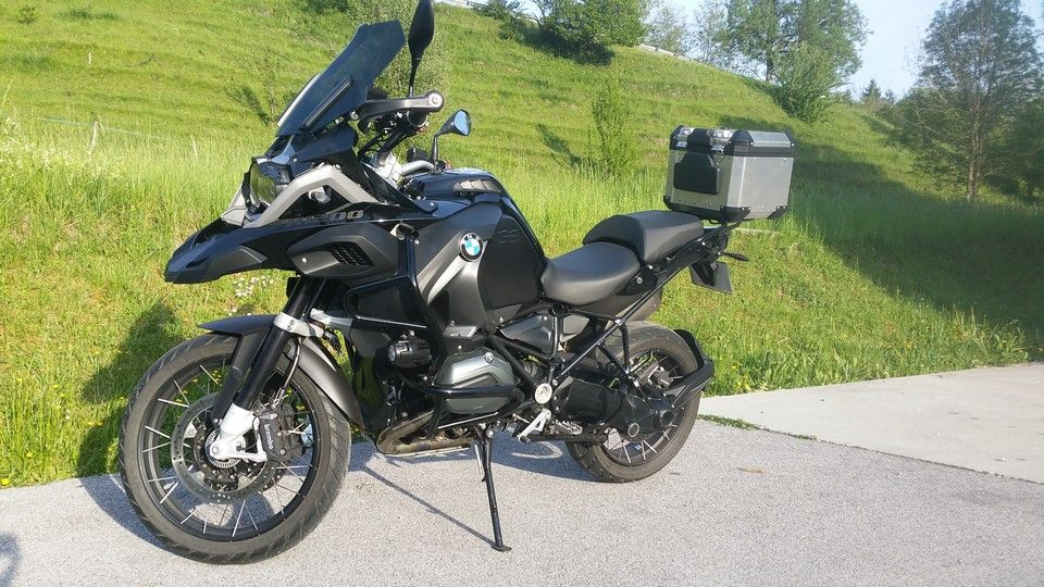 BMW 1200 GS Motorbike inspection left view