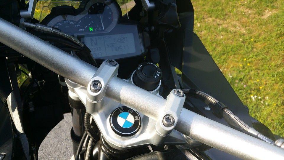 BMW 1200 GS Motorbike inspection keyless start