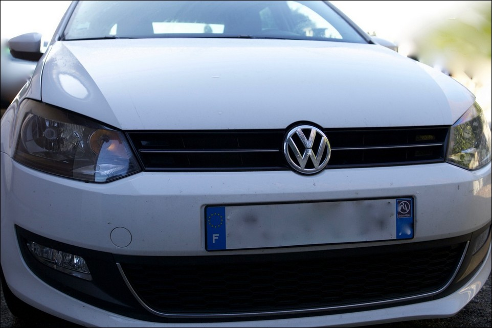 Volkswagen Polo grill
